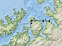 Average Weather In August In Hammerfest Norway Weather Spark - Norway map hammerfest