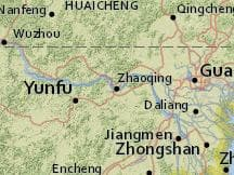 Average Weather In Zhaoqing China Year Round Weather Spark - Zhaoqing map