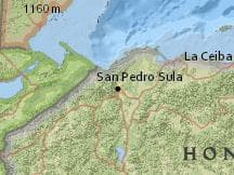 Average Weather In San Pedro Sula Honduras Year Round Weather - San pedro sula map