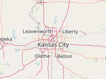 Kansas City Jackson County Missouri United States World Interactive Map