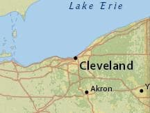 Average Weather In May In Cleveland Ohio United States Weather - Cleveland ohio on us map