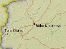 Average Weather at Bobo Dioulasso Airport Burkina Faso Year Round