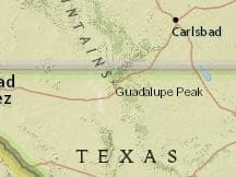 Average Weather at Pine Springs Guadalupe Mountains National Park